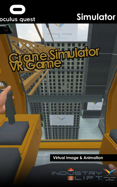 VR Game Crane Operation